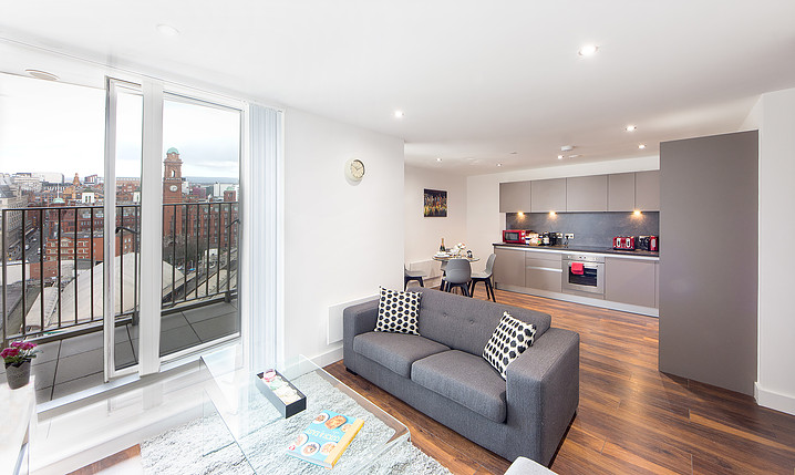 serviced apartments manchester